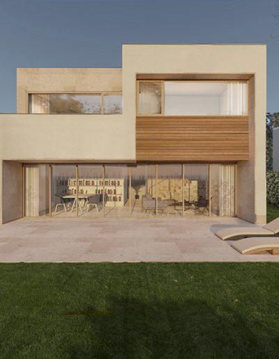 Conjunto residencial en Sada